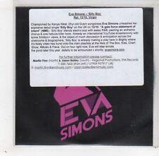 (GD371) Eva Simons, Silly Boy - DJ CD
