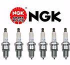 Set of 6 NGK BPR5EP-11 Spark Plug - Laser Platinum 3971 BPR5EP11