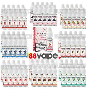 10Pack - 88Vape Anytank Any Pen E-liquids 10ml Bottles Nicotine Vape Juice