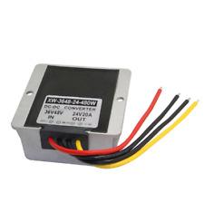 WaterProof (36V/48V to 24V 20A) (480W) STEP DOWN DC/DC Power Converter Regulator