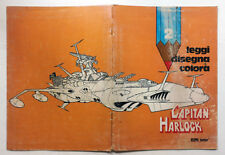 Album leggi disegna colora l'ARKADIA di CAPITAN HARLOCK 2 ERI junior 1979