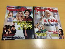 lotto 2 riviste grand hotel - N° 10 del 7/3/2014 e N° 8 del 22/2/2013