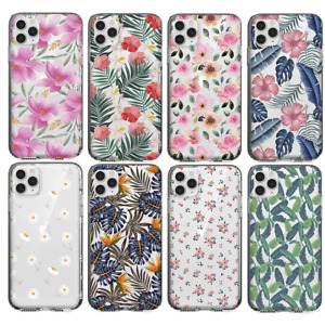 Phone Case UK Floral iPhone 11 6/7/X SE SAMSUNG S10 S20 HUAWEI P30 Lite