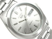 Seiko 5 Men's SNX993K1 Stainless Steel Automatic 21 Jewels Day Date Watch