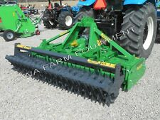 "Power Harrow &Packer Roller:Valentini Pr2500, 101"",80-130Hp;Best Specs&Features!"