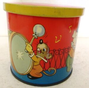 1950s Blue Bird Childrens Toffee Tin