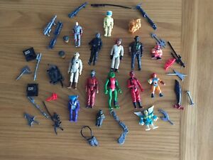 Selection Of Vintage 1980's Action Figures & Accessories