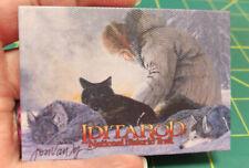 Alaska Magnet - Jon van Zyle Iditarod Firelight print on canvas magnet NICE!