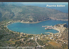 Spain Postcard - Mallorca (Baleares) - Aerial View of Puerto Soller   RR686