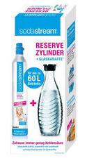 Sodastream 1100065490 Reservezylinder mit Glaskaraffe - 60L