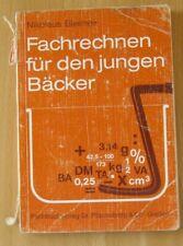 Lehrbuch N. Bleimeir Fachrechnen für junge Bäcker Stoff Aufgaben Lösungen