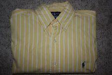 Ralph Lauren Blake Men's 100% Cotton Button Down Shirt Size M