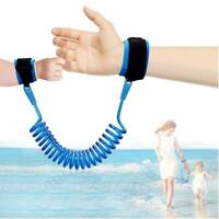 Safe Children Kid Anti-lost Wrap Scarf Leash Wrist Link Harness Strap Rein Rope