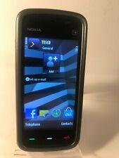 Nokia 5230 - Black, Grey & Purple (Unlocked) Smartphone Mobile