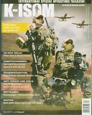 K-ISOM 4/2013 Spezialkräfte Magazin Kommando Bundeswehr Waffe Eliteeinheiten Luf