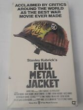 Full Metal Jacket New Sealed Vhs 1987 ,1990 Drama Action The Deer Hunter Platoon