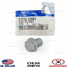 ENGINE OIL DRAIN PLUG GENUINE!!! FOR VARIOUS HYUNDAI KIA 2151223001