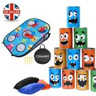 New Bean Bags Game Set for Kids Throwing Ring Toss Games Outdoor Family GameGift