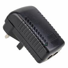 48V 0.5A Wall Plug POE Ethernet Adapter IP Phone/Camera Power Supply UK