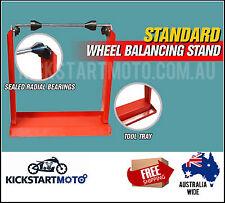 Motorbike Motorcycle Static Wheel Balancer Balancing Tyre Stand Motor Dirt Bike