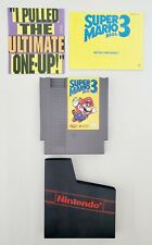 Nintendo NES Game Super Mario Bros 3 with Sleeve and Manual