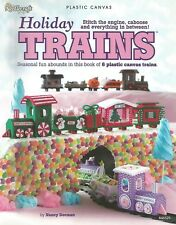 Holiday Trains Plastic Canvas Patterns Christmas Easter Valentines St. Patricks