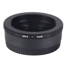 K&F Concept Adapter for M42 Screw Mount Lens to Nikon AI F Camera +Optical Glass