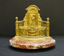 "Antique Brussels Grand Tour Relic Building Monument, 6""x6.5"""