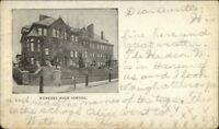 Yonkers NY High School c1905 Postcard