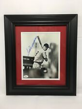 Ted Williams Signed 8x10 Photo Framed JSA LOA Rare Image