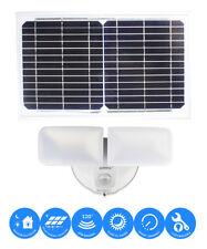 Solar LED Dual Head 1200LM SMART Motion Sensor Security Light Dusk to Dawn Lamp