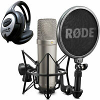 Rode NT1-A Set Kondensator Mikrofon + keepdrum Kopfhörer