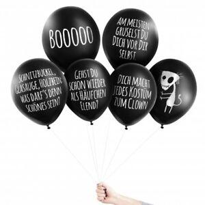 Pechkeks Anti-Party Ballons BOOOOO Halloween Set