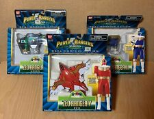 Power Rangers Zeo - Zord Morphin - Zeo Rangers III Blue, IV Green, V Red