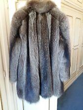 Pelliccia Marmotta naturale Canadese in perfette condizioni taglia M-L no visone