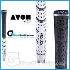 Avon Pro D2x Dual Compound Grips - Black / White x 3