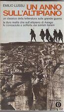 Lussu, Un anno sull'altipiano, Mondadori, Gli Oscar, 1970, classici