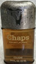 🏇Vintage Ralph Lauren CHAPS For Men 3/4 Oz 22ml Travel Size MINT RARE! 🏇