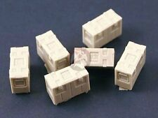 Panzer Art 1/35 B166 British Army Ammo Boxes (6 pieces) [Resin Diorama] RE35-105