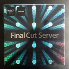 **BRAND NEW** Apple Final Cut Server Version 1.5 Unlimited Clients (MC127Z/A)