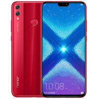 """Huawei Honor 8X 6.5"""" 64 Go Rouge/Red Débloqué Dual Sim 4G Android 8.0 Smartphone"""