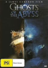 Ghosts Of The Abyss (DVD, 2016)  New, ExRetail Stock, Genuine & unSealed  D82