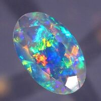 Natural Ethiopian Opal Vibrant Play of Colors Untreated Flashy Gemstones GS-26