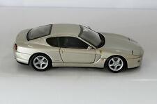 FERRARI 456M GT Hotwheels 456 M 1:18 Champagne Gray Lim. Edition no bbr mr cmc