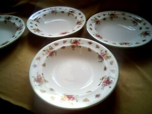 ROYAL ALBERT CASUAL CLASSICS CHINA OLD COUNTRY ROSES PASTA PLATE 28.5cm