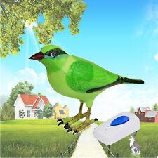 Birds Singing Wireless Remote Control Receiver Chime Digital Doorbell Alarm 2017