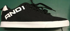 And1 Men Size Us 11, Eur 44 1/2, Fundamental Low Top Canvas Tennis Shoes Nwob