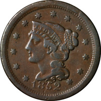 1852 Large Cent Great Deals From The Executive Coin Company