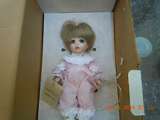 "Maryse Nicole Original Handcrafted Porcelain Doll Peanut 9"" # 247"