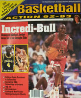Mike Warren's Basketball Action 1992-93 Magazine - Chicago Bulls Michael Jordan